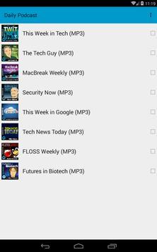 Daily Podcast apk screenshot