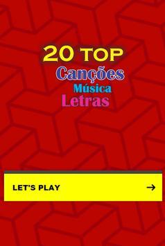 Top 20 Canções Músicas poster