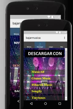 Bajar música gratis a mi celular MP3 guides poster