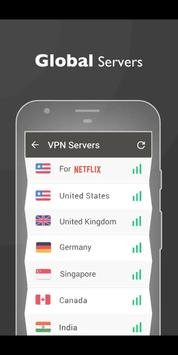 VPN FREE- Turbo•Super•Fast•Secure•Hotspot•VPN 截圖 2