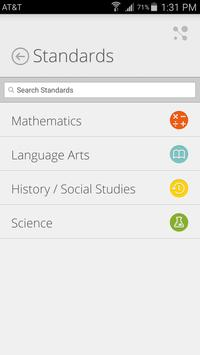 Washington DC State Standards apk screenshot