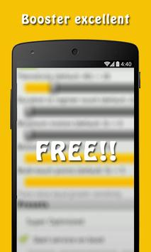 Free Yellow Booster Clean Tips poster
