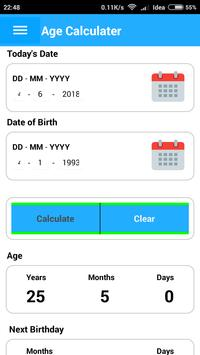 Age Calculator - Best Age Calculation Of The World for