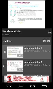 Fizik YGS LYS apk screenshot