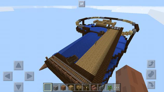 Water Slides rafting. MCPE map screenshot 3