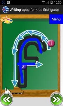Writing apps for kids apk screenshot