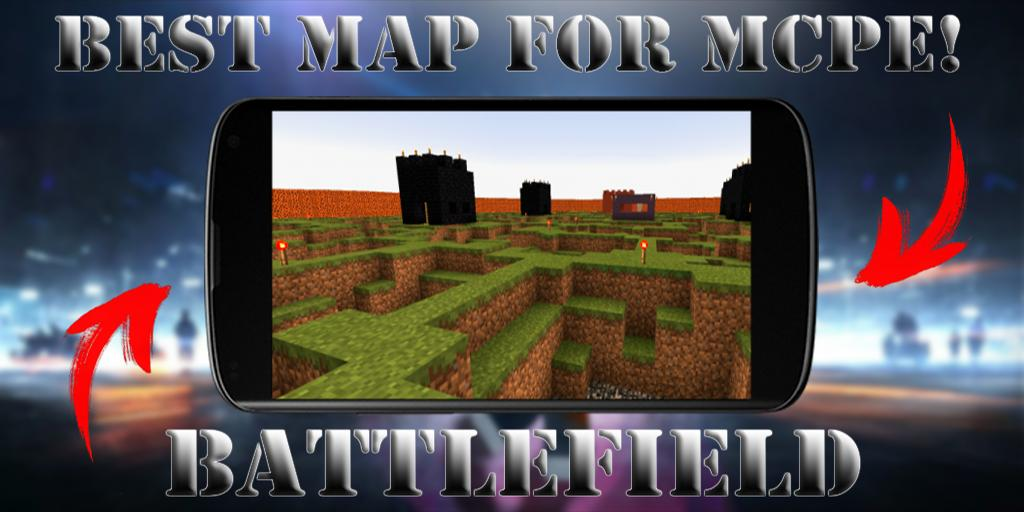 New War map Battlefield map for MCPE for Android - APK Download