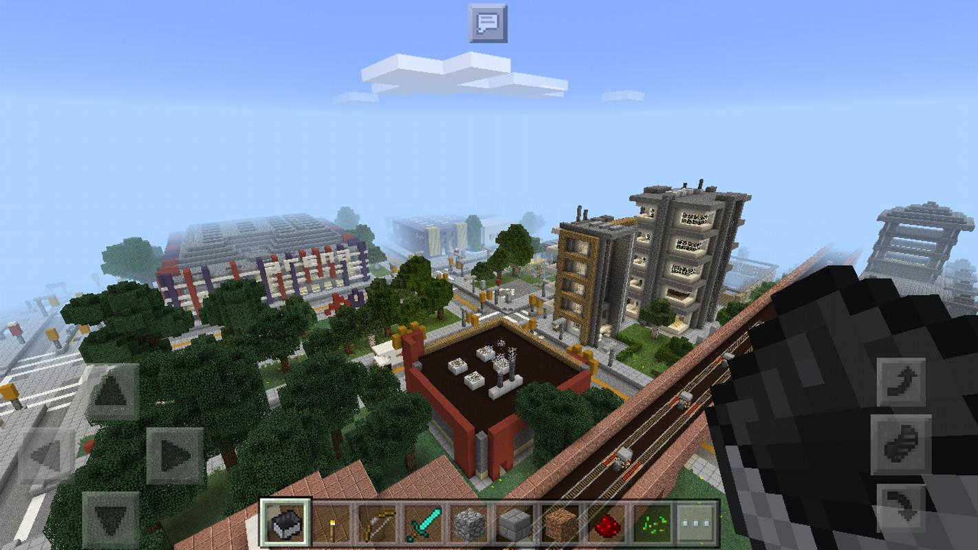 Blocks Angeles Minecraft Map For Android APK Download - Map para minecraft 1 11 2