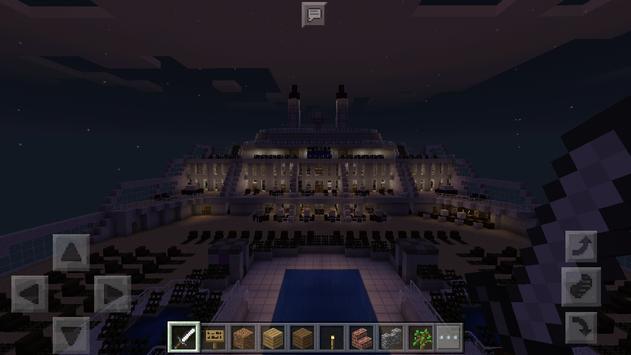 Cruise ship Map for Minecraft apk screenshot