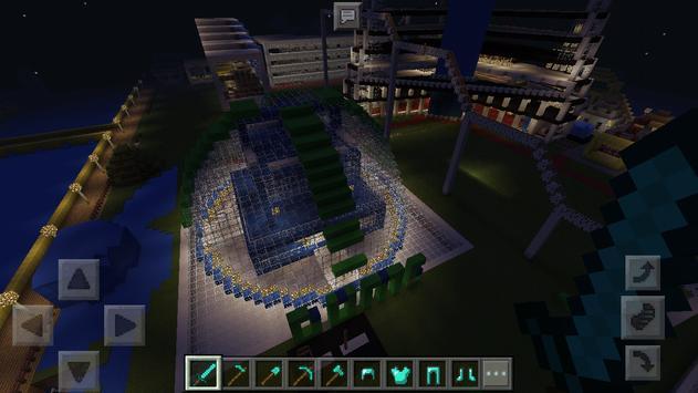 City EgaLand Minecraft map apk screenshot