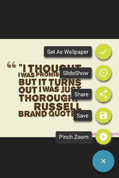 Funny Wallpapers Quote screenshot 1