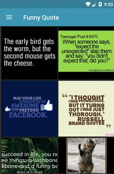 Funny Wallpapers Quote screenshot 2