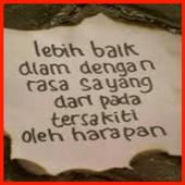 Gambar DP Kata Menyentuh Hati icon
