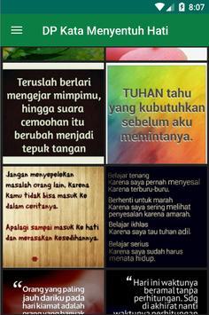 Gambar DP Kata Menyentuh Hati screenshot 3