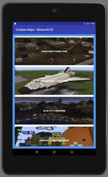 Creation Maps for minecraft apk screenshot