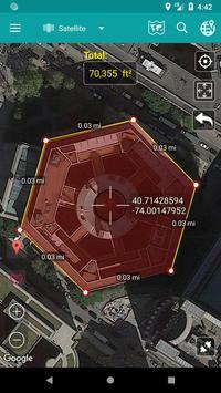 Measure Map apk screenshot
