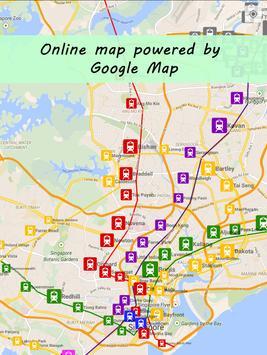 Singapore MRT Map screenshot 9
