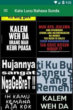 Gambar Kata Bahasa Sunda lucu apk screenshot