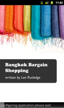 Bangkok Bargain Shopping poster