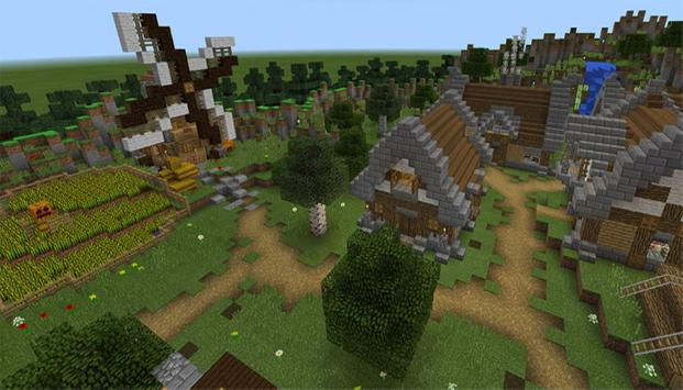 Map Infected Village For MCPE poster