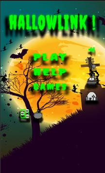HallowLink! Scary puzzle game! poster