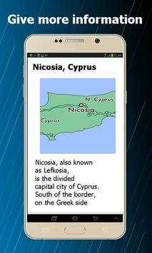 Map of Cyprus screenshot 1
