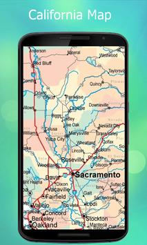 California Map screenshot 1