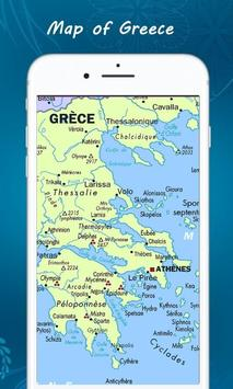 Map of Greece screenshot 1