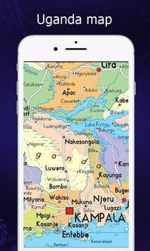 Uganda Map screenshot 1