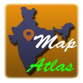 India Map Atlas - 250+ maps icon