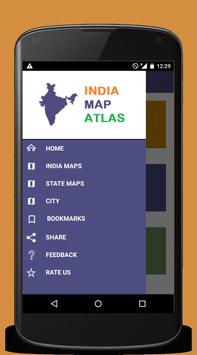 India Map Atlas - 250+ maps poster