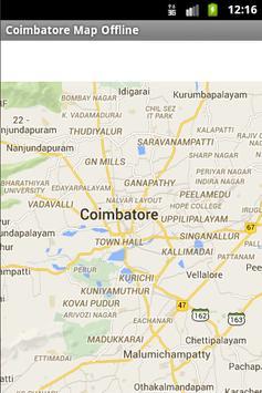 Coimbatore City Maps Offline poster
