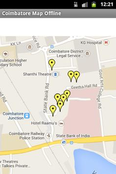 Coimbatore City Maps Offline apk screenshot