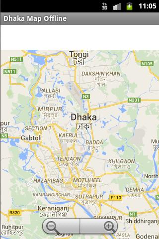 Dhaka City Maps Offline für Android - APK herunterladen on