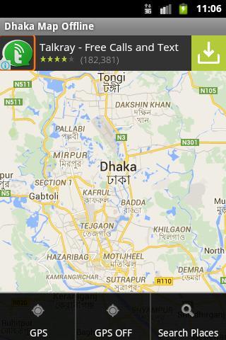 Dhaka City Maps Offline für Android - APK herunterladen