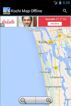 Kochi City Maps Offline poster