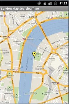 London Map Search Offline apk screenshot