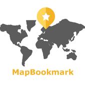 Map Bookmark icon