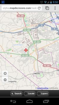 MapCollect apk screenshot