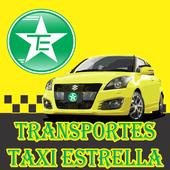Transportes taxi estrella User icon