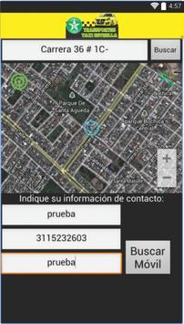 Transportes taxi estrella User screenshot 1