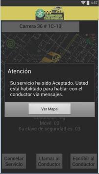 Transportes taxi estrella User screenshot 2