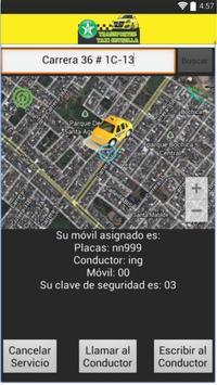 Transportes taxi estrella User screenshot 3