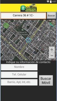 Transportes taxi estrella User screenshot 5