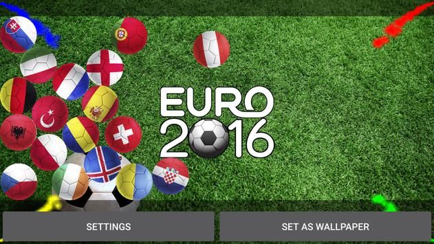 EURO 2016 Live Wallpaper apk screenshot