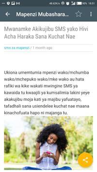 Mapenzi Mubashara apk screenshot