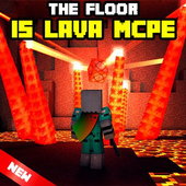 The Floor is Lava for MCPE Maps parkour icon