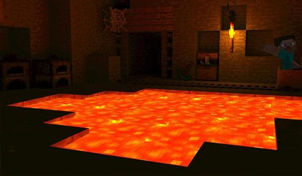 The Floor is Lava for MCPE Maps parkour screenshot 2