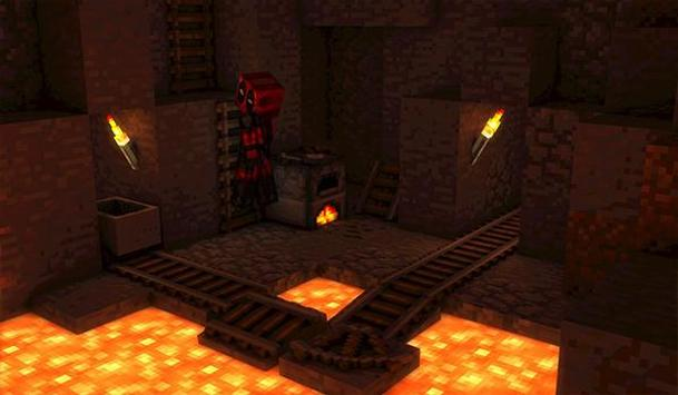 The Floor is Lava for MCPE Maps parkour screenshot 3