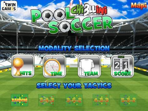 Chiello Pool Soccer poster